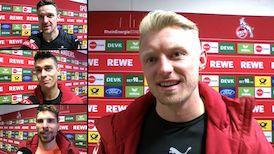 Die Interviews nach dem VfB Spiel in Köln