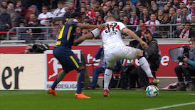 2. Halbzeit: VfB Stuttgart - RasenBallsport Leipzig
