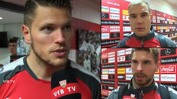 Die Interviews nach dem Heimspiel gegen Leipzig