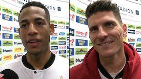 Die Interviews nach dem Spiel in Freiburg