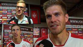 Die Interviews nach dem Spiel in Kaiserslautern