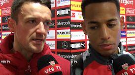 Die Interviews nach dem HSV-Spiel