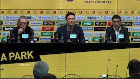 Pressekonferenz: Borussia Dortmund - VfB Stuttgart