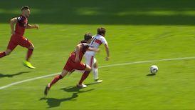 1. Halbzeit: 1. FC Kaiserslautern - VfB Stuttgart