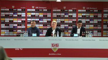 Pressekonferenz: VfB Stuttgart - Hannover 96