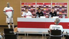Die PK vor dem VfBfairplay Spieltag gegen Werder Bremen