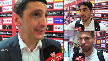 Die Interviews nach dem Heimspiel gegen Werder Bremen