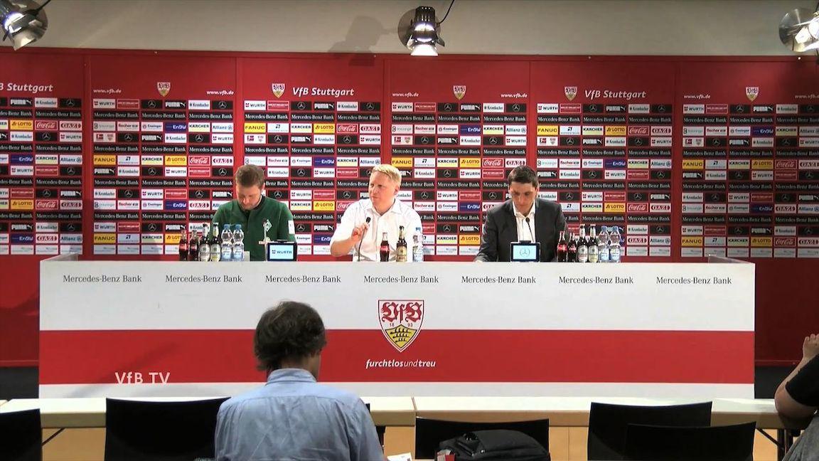 Pressekonferenz: VfB Stuttgart - Werder Bremen