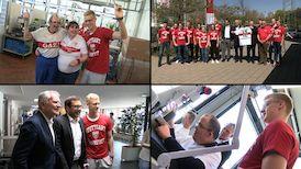 VfBfairplay: Tag der Begegnung in den Neckartalwerkstätten