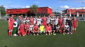 VfB Traditionsmannschaft vs. Mercedes-Benz Bank Auswahl