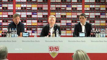 Pressekonferenz: VfB Stuttgart - TSG Hoffenheim