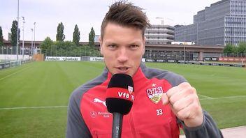 Die VfB Profis sagen Danke