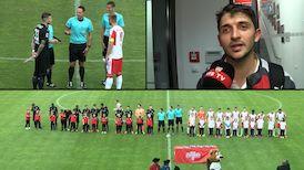 Testspiel: Hallescher FC - VfB Stuttgart