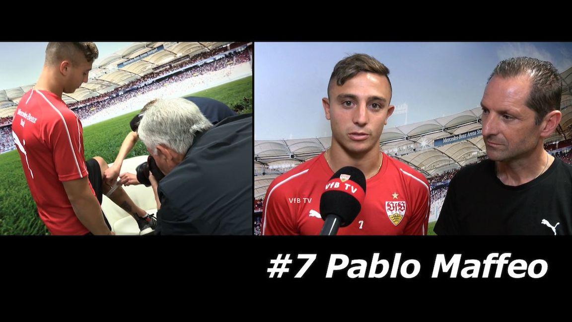 VfB Neuzugang Pablo Maffeo im Interview