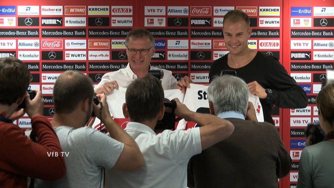 Die PK zur Vertragsverlängerung von Holger Badstuber