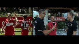 Erik Thommy zieht für VfBTV am Sonntag das Tagesfazit