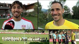 Die Interviews nach dem Testspiel gegen Istanbul Basaksehir