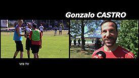 Das Dienstags-Training mit Gonzalo Castro