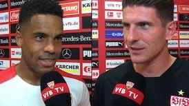 Die Interviews nach dem Testspiel gegen Atlético