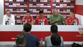 Die Kurzversion der PK mit den drei Argentiniern im VfB Kader