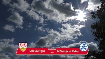 Highlights U19: VfB Stuttgart - SV Stuttgarter Kickers