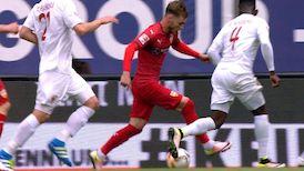 Highlights: FC Augsburg - VfB Stuttgart