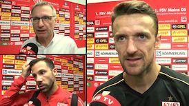 Die Interviews nach dem Spiel beim 1. FSV Mainz 05