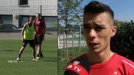Erik Thommy zwischen Mainz und dem FCB