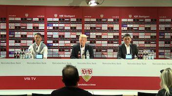 Pressekonferenz: VfB Stuttgart - FC Bayern München