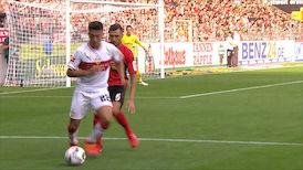 2. Halbzeit: SC Freiburg - VfB Stuttgart