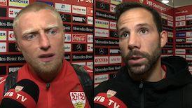 Die Interviews nach dem Heimspiel gegen Düsseldorf
