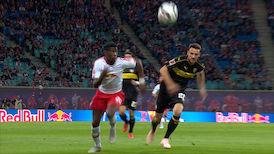 1. Halbzeit: RB Leipzig - VfB Stuttgart