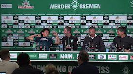 Die Werder Pressekonferenz aus Bremen
