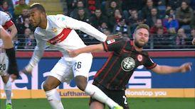 Highlights: Eintracht Frankfurt - VfB Stuttgart