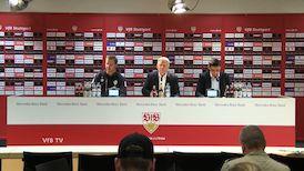 Pressekonferenz: VfB Stuttgart - SV Werder Bremen
