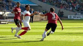 1. Halbzeit: Hannover 96 - VfB Stuttgart