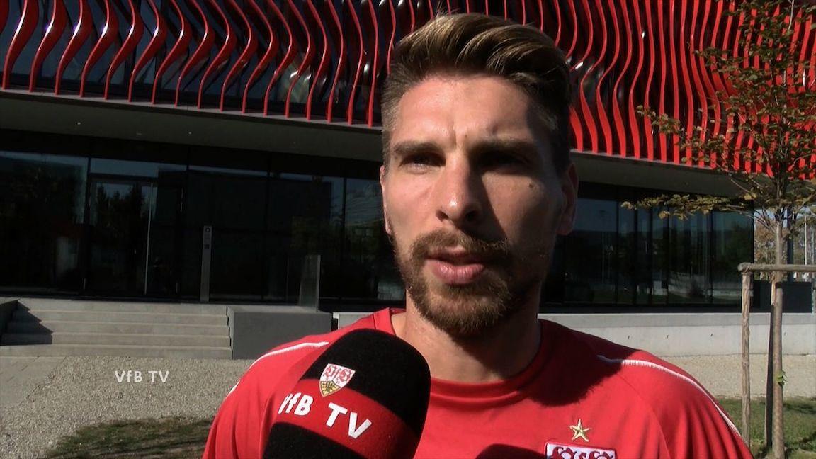 Ron-Robert Zieler vor dem Spiel gegen Borussia Dortmund