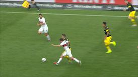 1. Halbzeit: VfB Stuttgart - Dortmund