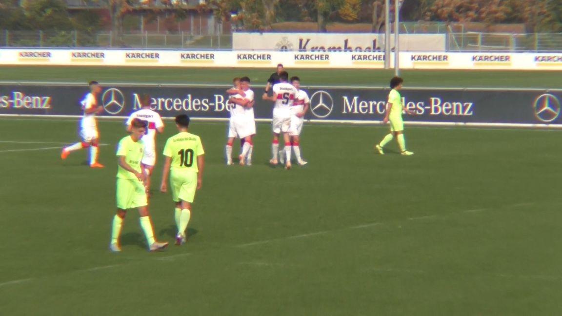 Highlights U17: VfB Stuttgart - SV Wehen Wiesbaden