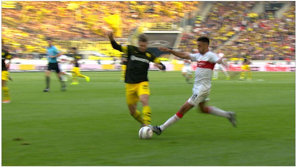 Highlights: VfB Stuttgart - Dortmund