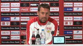 Die Pressekonferenz vor dem Spiel gegen die TSG Hoffenheim