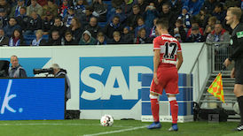 1. Halbzeit: TSG Hoffenheim - VfB Stuttgart