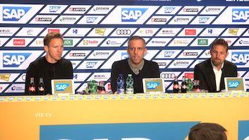 Pressekonferenz: TSG Hoffenheim - VfB Stuttgart
