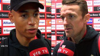 Die Interviews nach dem Spiel gegen Frankfurt