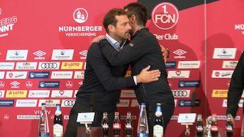 Pressekonferenz: 1. FC Nürnberg - VfB Stuttgart