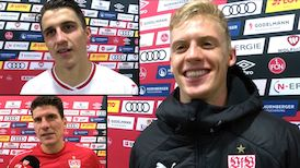 Die Interviews nach dem Spiel in Nürnberg