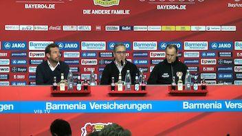 Pressekonferenz: Bayer 04 Leverkusen - VfB Stuttgart