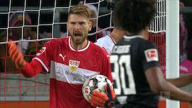 2. Halbzeit: VfB Stuttgart - FC Augsburg