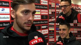Die Interviews nach dem Augsburg-Spiel