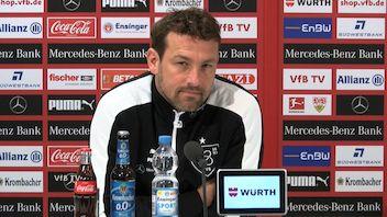 Die Pressekonferenz vor dem Spiel in Mönchengladbach